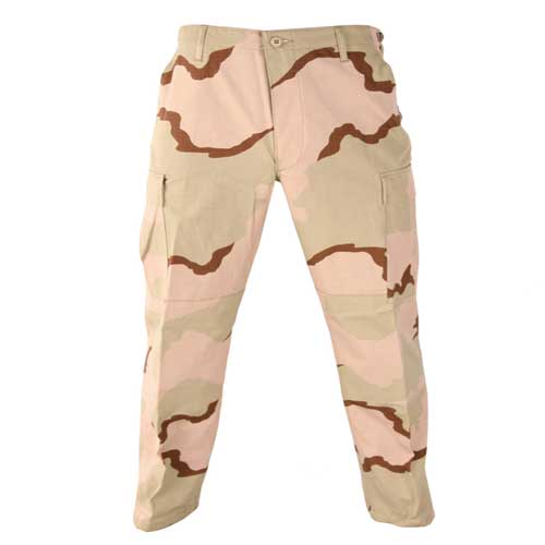 BDU Trousers-3 Color Desert