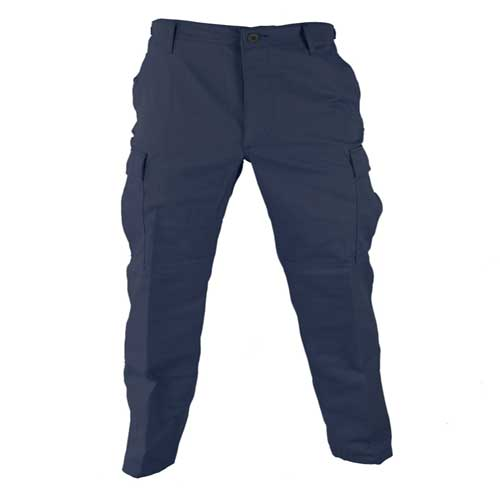 BDU Trousers-Navy Blue