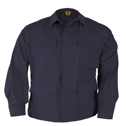 BDU Top-Navy Blue