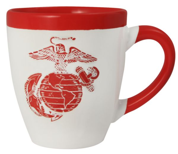 Coffee Cup-United States Marine Corps With EGA