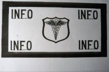 Patch-Flight/Caduceus With Shield