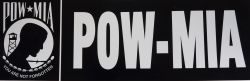 Bumper Sticker-POW-MIA
