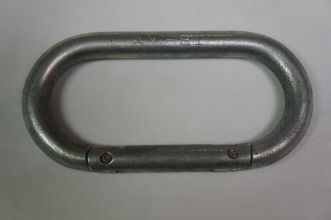 Carabiner- Vintage Oval steel AMF 81 US Army