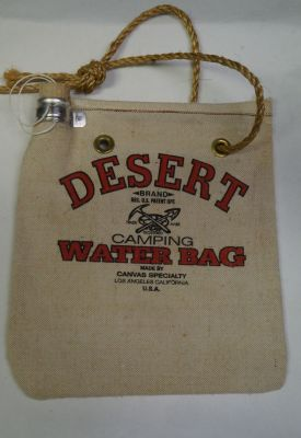 VINTAGE Desert Water Bag With rope
