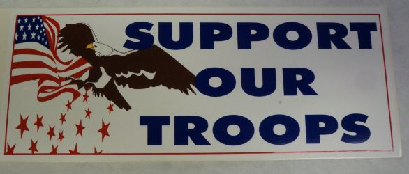Bumper Sticker- Support Our Troops