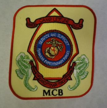 Patch- MCB Camp Lejeune