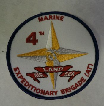 Patch- 4th Marine Expeditionary Brigade