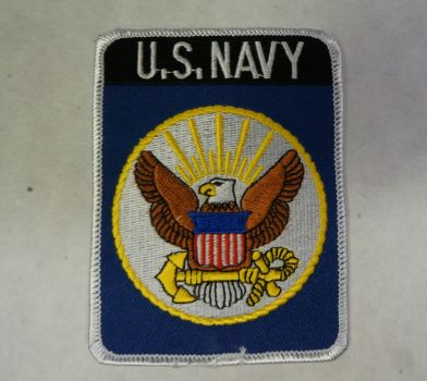 Patch- U.S. Navy With Eagle