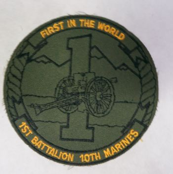 Patch- 1st Battalion 10th Marines