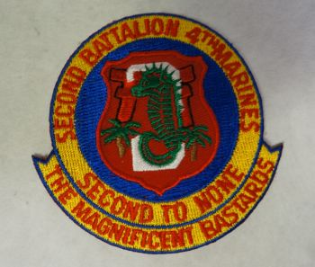 Patch- 2nd Battalion 4th Marines