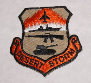 Patch-Desert Storm with Tank and Jet