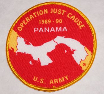 Patch- Operation Just Cause Panama US Army Printed