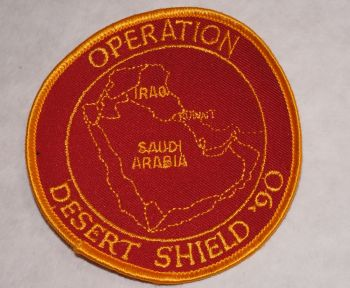 Patch- Operation Desert Shield '90