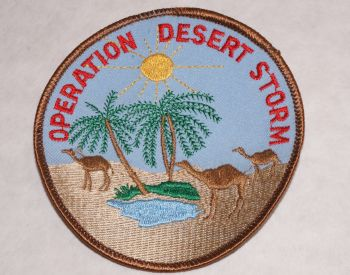 Patch- Operation Desert Storm with Camels (Large)