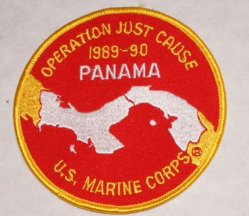 Patch- Operation Just Cause Panama USMC