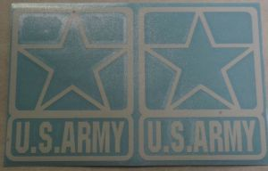 Decal-Army Stars For Tail lights