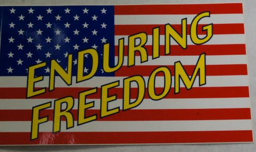 Bumper Sticker-Enduring Freedom