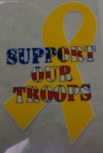 Decal- Support Our Troops