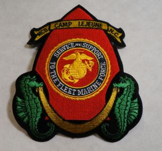 Patch- MCB Camp Lejeune N.C. Embroidered