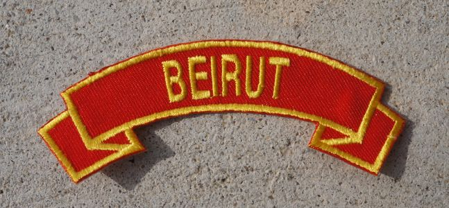 Patch-Beirut Red Tab