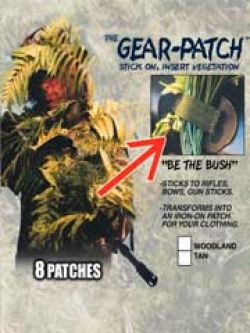 Gear Patches (8 Patches)