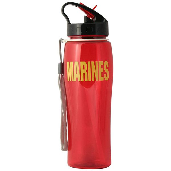 Water Bottle-Marines Red