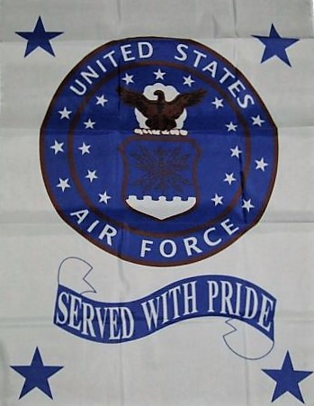 Air Force House Banner 28x40