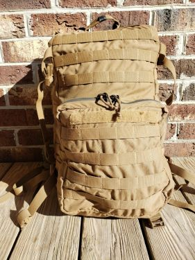 USMC-Assault Pack Coyote USED **Call 910-347-3520 for pricing and availability**
