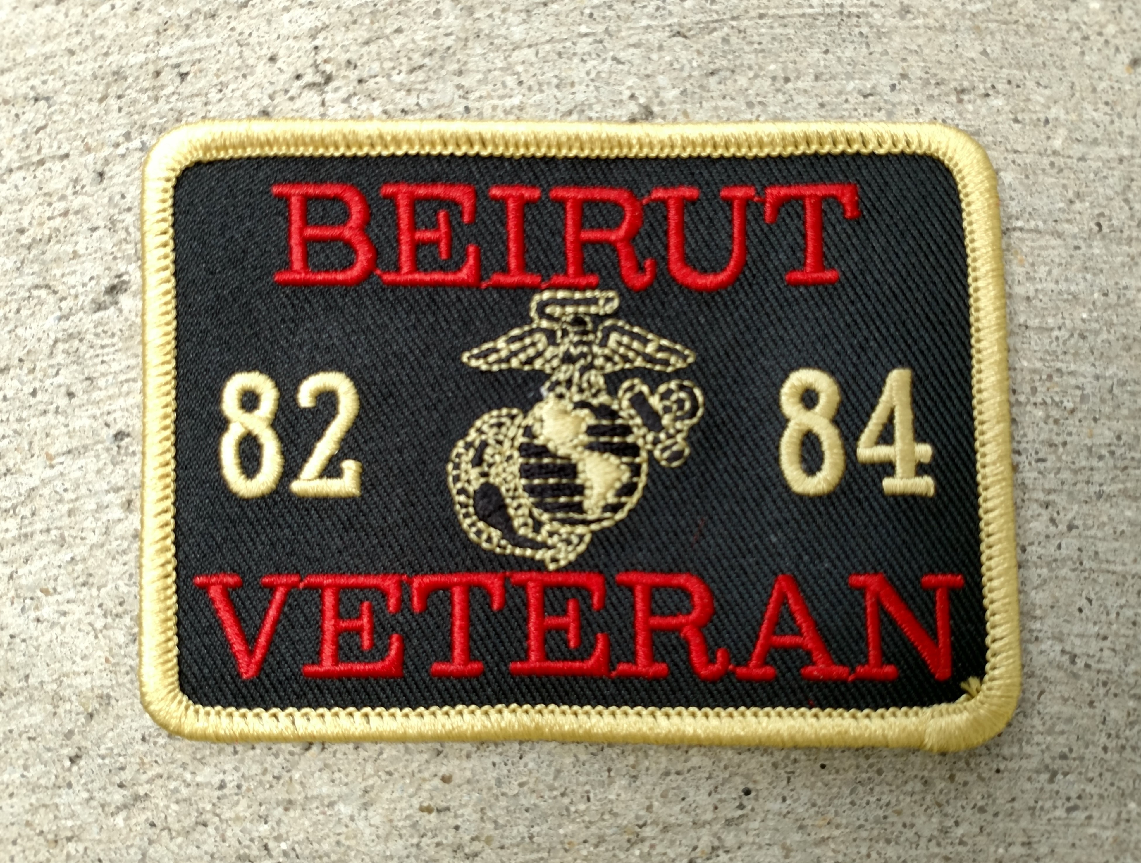 NEW Beirut Veteran Patch