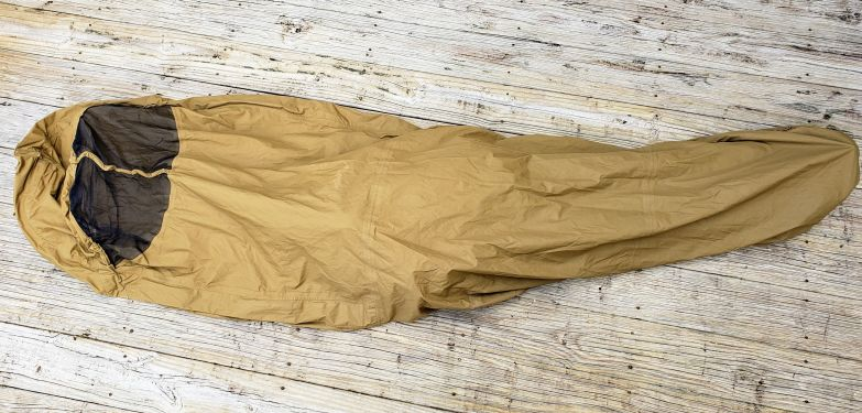 USMC-Improved Bivy Cover Coyote USED