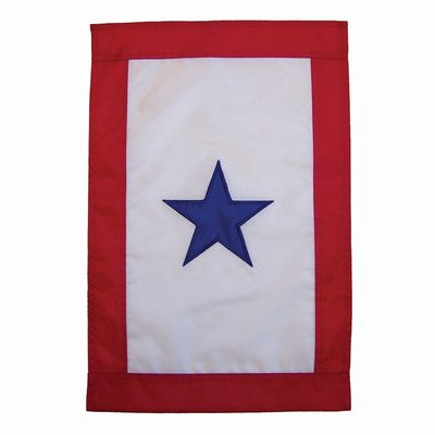 Blue Star Garden Flag
