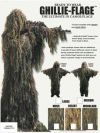 Ghillie Flage Camoflage Long Jacket