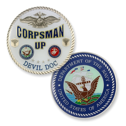 COIN-CORPSMAN UP