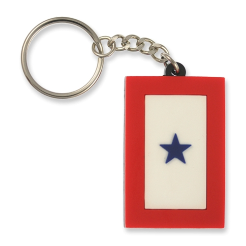 KEY CHAIN-SERVICE FLAG