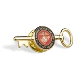 Hat Pin-KEY TO MY HEART/MARINE