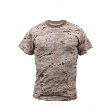 Youth Short Sleeve Camoflauge T-Shirt