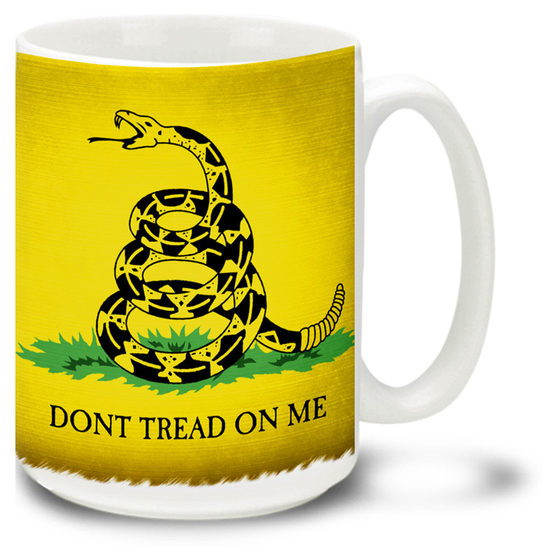 Coffee Cup-Dont Tread On Me