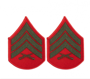 Chevron-USMC Alpha Female (Choose Rank)
