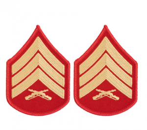 Chevron-USMC Dress Blues Female