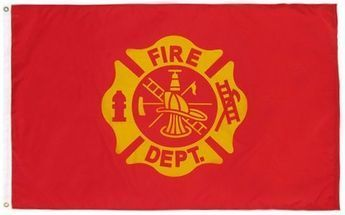 Fire Department Flag 3'x5'