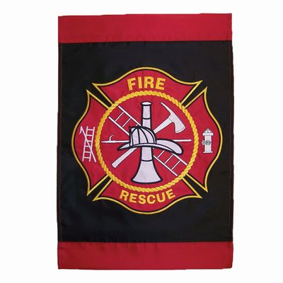 Fire Department Garden Flag