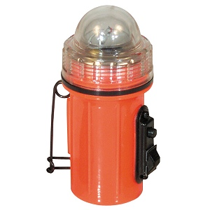 Orange Strobe Light