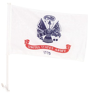 Car Window Flag- US Army