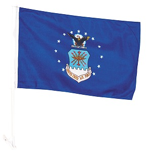 Car Window Flag- US Air Force