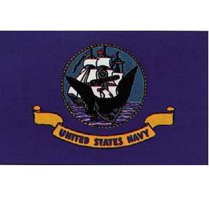 2'x3' US Navy Flag