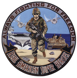 Patch-American Soldier
