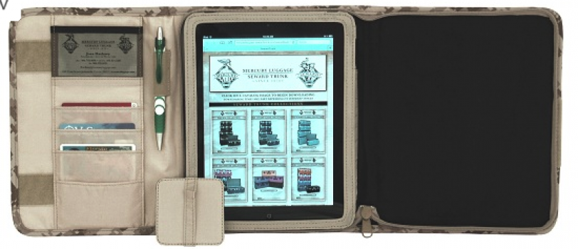 Code Alpha Digital Desert IPAD Folio case
