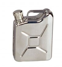 "Flask-Gas Can ""Jerry Can"" Stainless Steel"