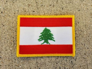 Patch- Lebanon Flag