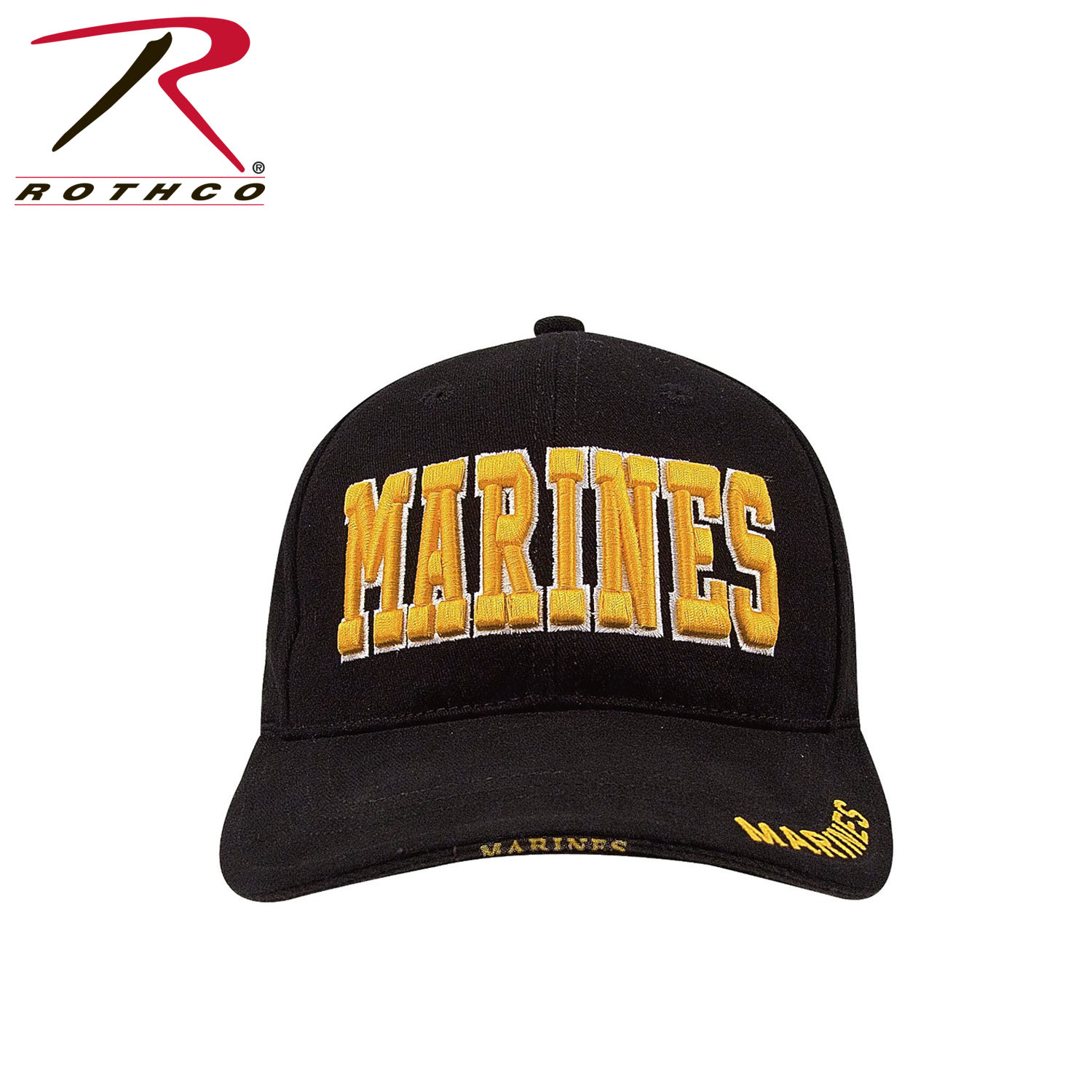 Cap-Black with Gold Marines